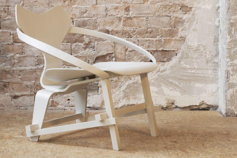 Diederik Scheenmann Mash Up chair stoel