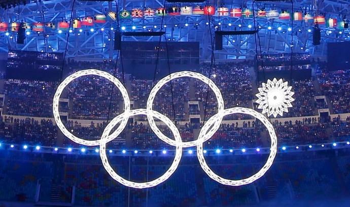 Olympic Sotsji logo mislukking openingsceremonie
