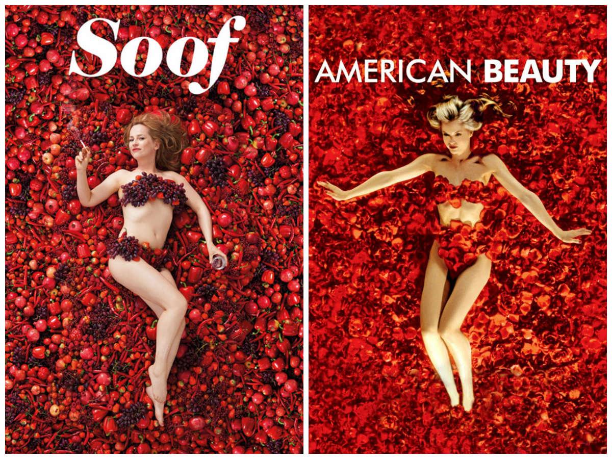 Filmposter Soof film poster American Beauty kopie