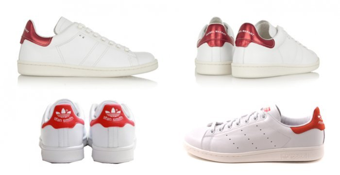 adidas stan smith rood sale